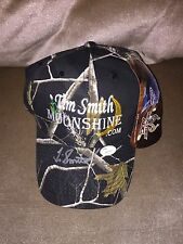 MOONSHINERS TIM SMITH SIGNED OFFICIAL LOGO HAT MOONSHINE CLIMAX PROOF JSA RARE