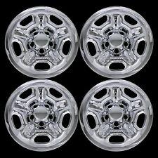 "4 CHROME 05-15 Toyota Tacoma 15"" Wheel Skins Hub Caps Tire Rim Covers Simulators"