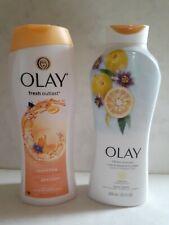 Olay Fresh Outlast Body Wash Yuzu & Passion Flower Set 2 New