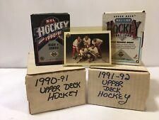 1990-91 1991-92 Upper Dck Hockey Sets High Number Series Lot