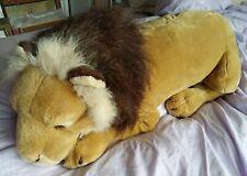 Large Cuddly Sleepy Lion Soft Toy