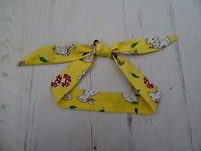 Baby Head Scarf - Yellow Rabbit - Hair Unisex Rockabilly Bandana