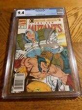 NEW MUTANTS #97 CGC 9.4 NM X-MEN X-FACTOR Cable Wolverine Near Mint