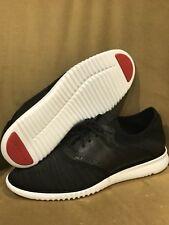 Cole Haan Men's 2.Zerogrand Packable Saddle-Knit Fashion Sneaker, Black, Size 11