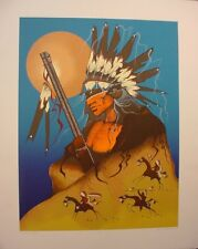 Warrior Chief by Garry Meeches Ltd Edition Print Great Canadian Print Co