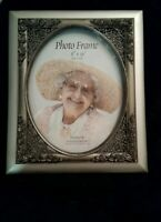Beautiful Silver Rose Picture Frame 8 X 10