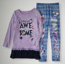 Legging Set Girls Large (10-12) MLP My Little Pony Beyond Awesome! NWT