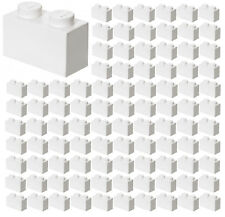 ☀️50x NEW LEGO 1x8 WHITE Bricks BULK Parts City Building Ice Snow ID 3008