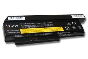 BATTERIA 6600mAh per Lenovo ThinkPad X220 / X220i / X220s