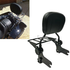 Motorcycle Detachable Sissy Bar Passenger Backrest W/Pad Fit Harley Touring