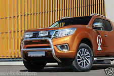 SHIELD BUFFALO,PROTECTION BEFORE NISSAN NAVARA 16- STAINLESS STEEL DIA 70mn NON