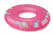 Zoggs Zoggy Swim Ring 2-3 Years  Pink