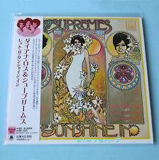 DIANA ROSS & SUPREMES Let The Sunshine au Japon MINI LP CD Brand New & SS