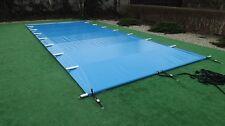 Poolabdeckung Sicherheitsplane Plane Schwimmbadplane Poolplane 5,5 x 3,00m Pool