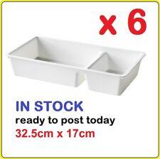 Plastic Drawer Organiser IKEA BILLINGEN Boxes Trays Divider Wardrobe Malm X6