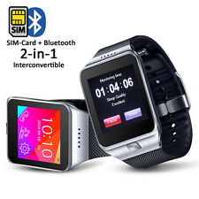 Swap (Smart Watch And Phone) 2-in-1 Interconvertible Gsm+Bluetooth Smart Watch!