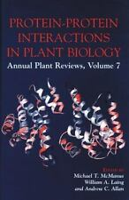 Protein-Protein Interactions in Plant Biology (Sheffield Annual Plant -ExLibrary
