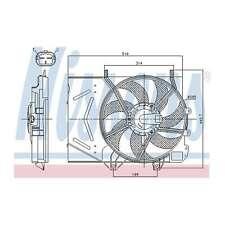 Fits Peugeot 207 1.6 16V VTi Genuine Nissens Engine Cooling Radiator Fan