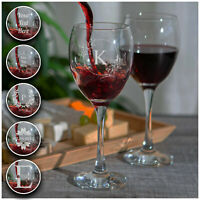 Personalised Engraved Red / White Wine Glass Your Own Text Etched Glassware Gift