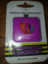 Emergency phone charger keyring Android Mini usb