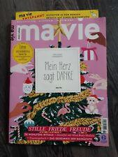 Zeitschrift MA VIE Ausgabe November Dezember 2020 neuwertiger Zustand MAVIE