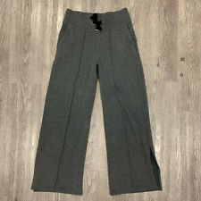 Athleta Sierra Wide Leg Pants Women's Size S Heather Gray Soft Sweatpants 353736