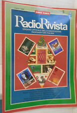 RADIO RIVISTA 3 1988 Verticale per cinque bande Antenne Loop OM AMSAT Anello di