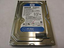 """Western Digital 500GB 7200RPM 3.5"""" SATA Desktop Hard Drive WD5000AZLX 837116-001"""