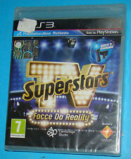 TV Superstars - Sony Playstation 3 PS3 - PAL New Nuovo Sealed
