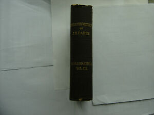 Ecclesiastical Vol 3 of Collected Writings J.N.D. Darby Plymouth Brethren
