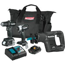 "Makita CX300RB ""A Grade"" 18V Sub-Compact Brushless 3-Piece Combo Kit (2.0 Ah)"