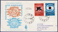 1962 - FDC Venetia - Mostra del Cinema - Viaggiata per raccomandata - n.-189It