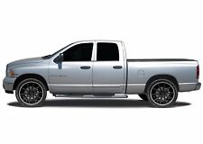 FITS DODGE RAM 1500 QUAD CAB 2009-2016 ABS CHROME LOWER BODY SIDE DOOR MOLDING