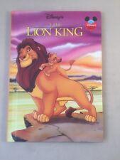 Disney The Lion King 94 Grolier Books Lion King book Simba storybook 1994