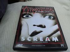 "DVD ""SCREAM"" Neve CAMPBELL, David ARQUETTE Courteney COX / Wes CRAVEN / ANGOISSE"