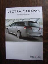 Irmscher Opel Vectra Caravan C Prospekt / Brochure / Depliant, D/GB, 11.2003