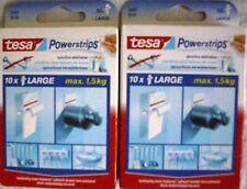 TESA 20 Powerstrips  ( Bei SOFORTKAUF 10 POWERSTRIPS GRATIS)