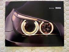 BMW OFFICIAL 3 5 7 SERIES M M3 M5 Z8 Z4 X5 SALES BROCHURE 2004 USA EDITION