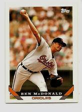 Ben McDonald Baltimore Orioles 1993 Topps Baseball Card #218 NM/MT