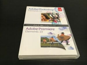 Adobe Photoshop Elements 10 and Premiere Elements 10 for PC, Mac