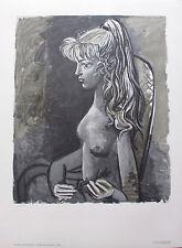 Pablo Picasso SYLVETTE AU FAUTEUIL 1980 Limited Edition Lithograph Art