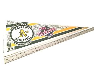 World Series 1988 American League Oakland Athletics Baseball Pennant MLB