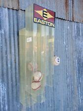 Easton Baseball Rack Display Core Ball Vintage Ad Play Store Bat Old Hold Wall
