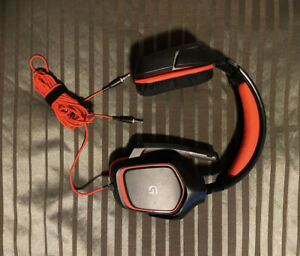 Logitech G230 Black/Red Over the Ear Gaming Headset