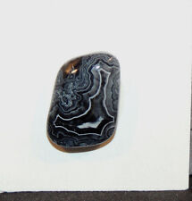 Fortification Agate Cabochon 20x15mm with 6.5mm dome (10985)