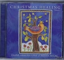 CHRISTMAS HEALING CD BY DIANE ARKENSTONE & MISHA SEGEL VOL 1 NEW IN WRAPPER