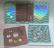 Divisional San Marino 2017 New Coin Folder Nuove 9 parts water effigies