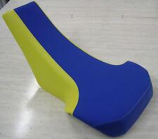 Suzuki LT250R LT 250R quadracer  seat cover blue yellow