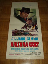Arizona Colt (Giuliano Gemma). Locandina originale 1966, cm.35x70.  Rara !!