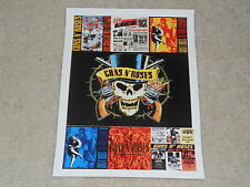 """Guns n' Roses Album Covers Mini-Poster, Banned Cover, Use Your Illusion,8"""" x 11"""""""